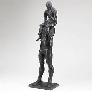 102: Leonard Baskin (American, 1922-2000) Aeneas Carryi