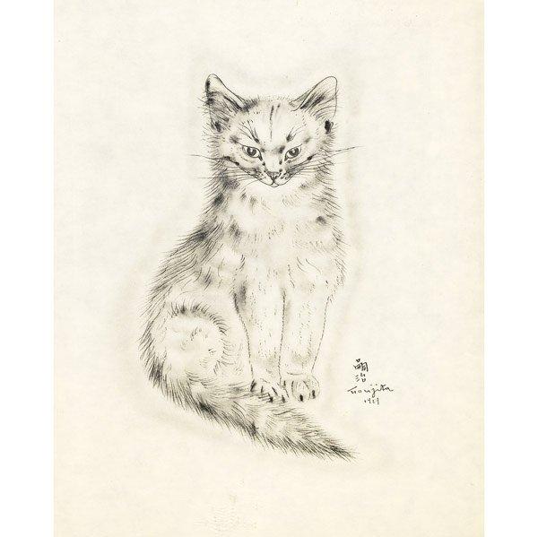 117: Leonard Tsugoharu Foujita (French/Japanese, 1886-1