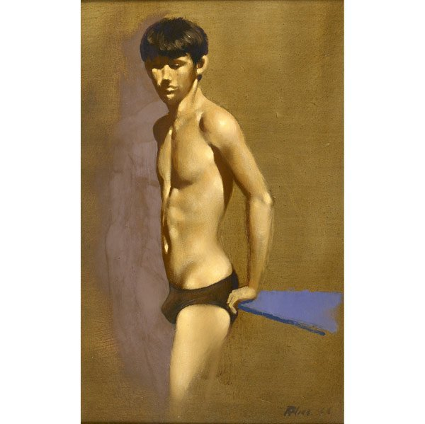 140: Robert Ryel Bliss (American, 1925-1981) Model in B