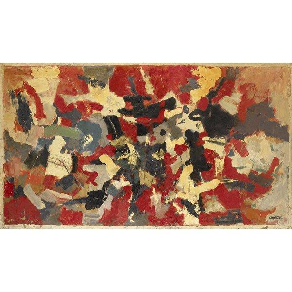 1001: John von Wicht (German, 1888-1970) Untitled, 1961