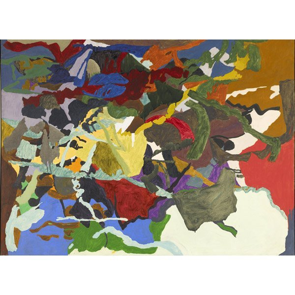 1002: Joseph Raffael (American, b. 1933) Simeto, 1962;