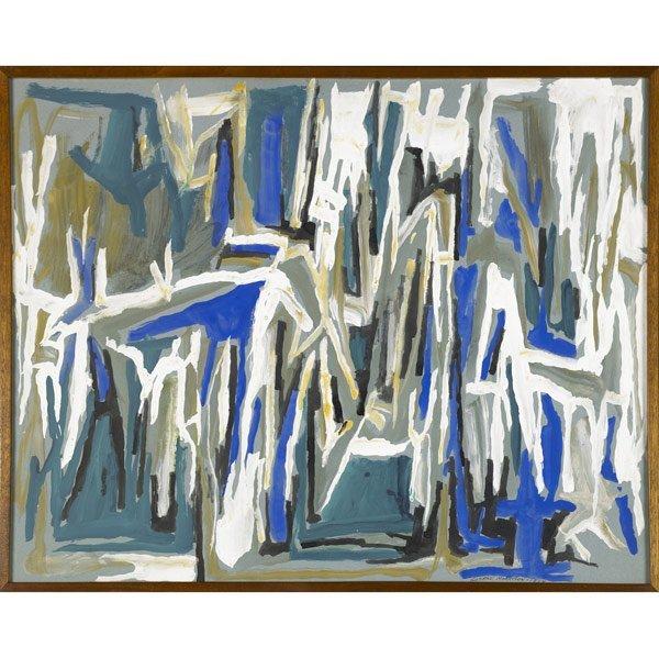 1003: George Morrison (American, 1919-2000) Two works o