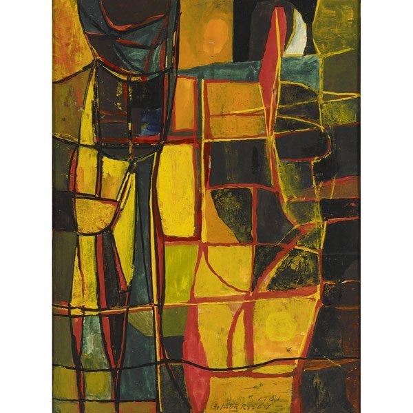 1005: George Morrison (American, 1919-2000) Untitled, 1
