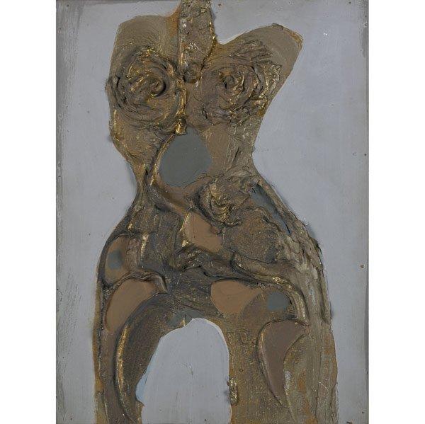 1006: Dario Villalba (Spanish, b. 1939) Torso Mineral-1
