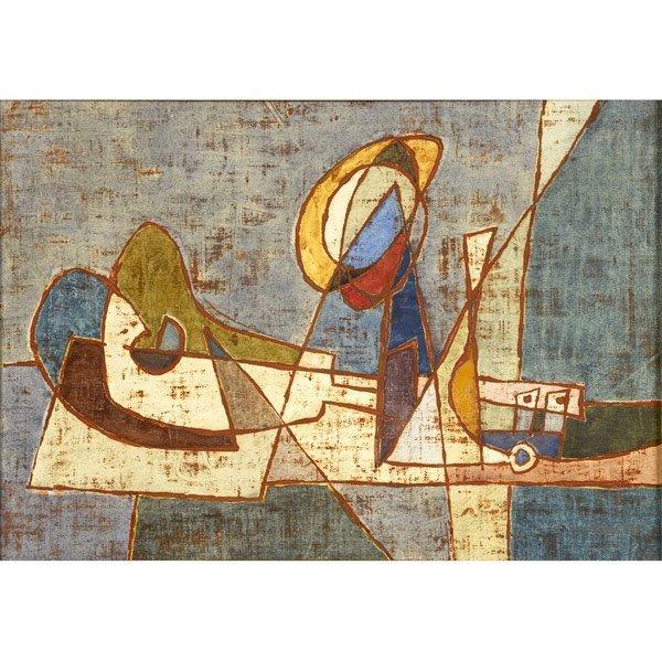 1008: Afro Basaldella (Italian, 1912-1976) Untitled, 19