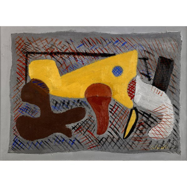 1009: Louis Schanker (American, 1903-1981) Untitled, 19