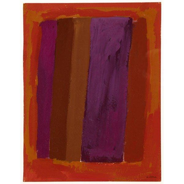 1011: Rex Ashlock (American, 1918-1999) Two works of ar