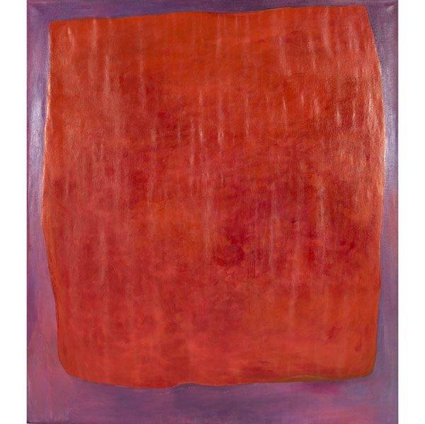 1012: Rex Ashlock (American, 1918-1999) Red on Purple,