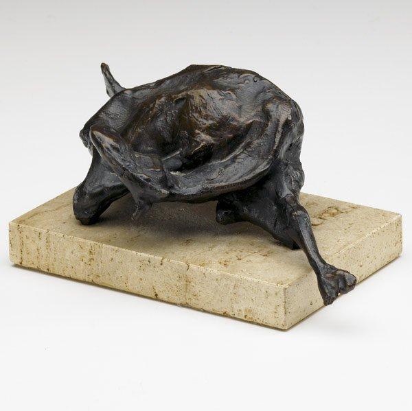 1019: Jack Zajac (American, b. 1929) Small Bound Goat,