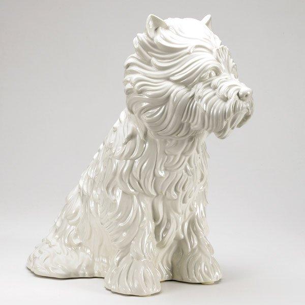 1218: Jeff Koons (American, b. 1955) Puppy, 1998; Porce