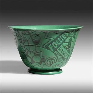 Viktor Schreckengost for Cowan Pottery, Rare Jazz bowl