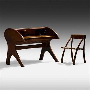 Arthur Espenet Carpenter, desk and chair