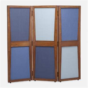 Pierre Jeanneret, Folding screen