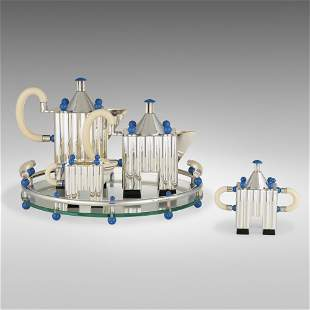 Michael Graves, Piazza tea and coffee service with tray