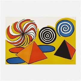 Alexander Calder, Untitled (Pinwheels and Pyramids)