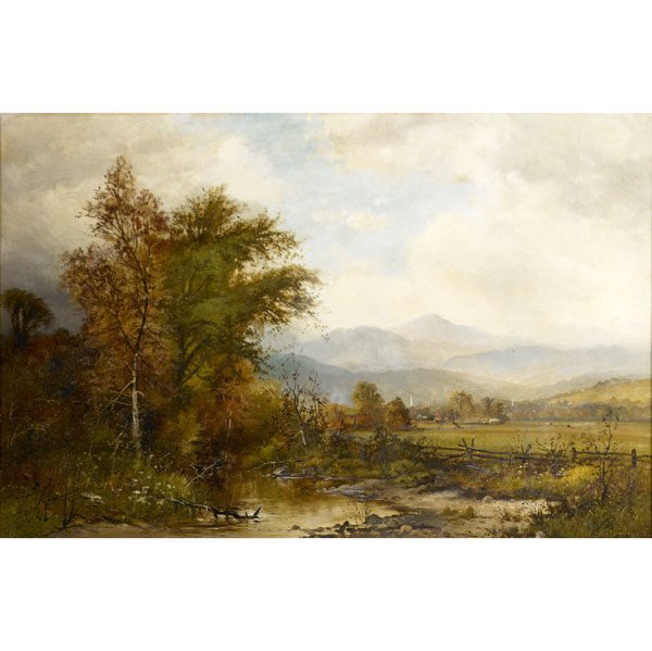 18: FRANK CLARK BROMLEY (American, 1859-1890)