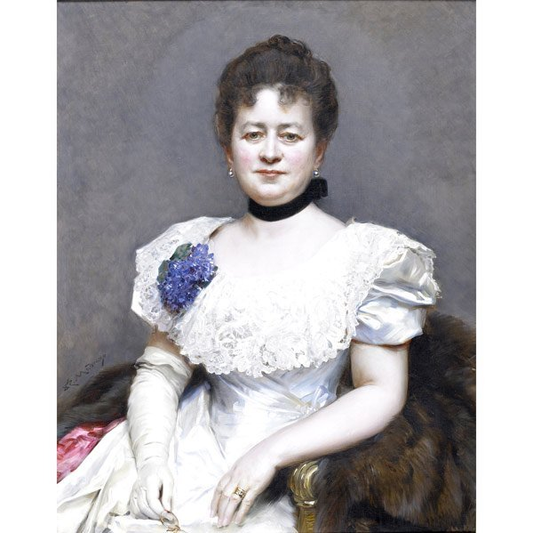 22: RAIMUNDO DE MADRAZO Y GARRETA (Italian, 1841-1920)