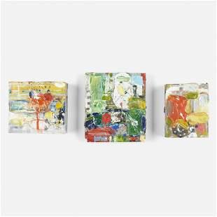 Robert Baribeau, Cigar Box (three works)
