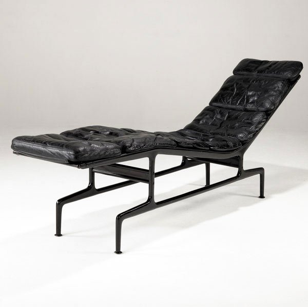 "1: CHARLES AND RAY EAMES ''Billy Wilder"" chaise lounge"