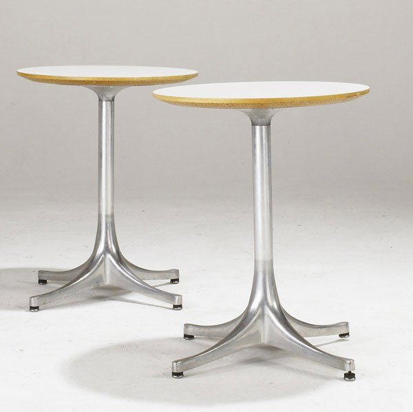 22: GEORGE NELSON / HERMAN MILLER Pair of side tables