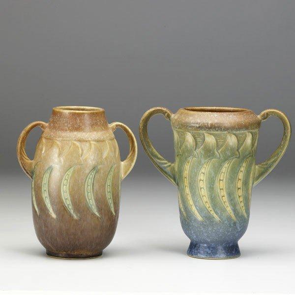 4: ROSEVILLE Falline two vases