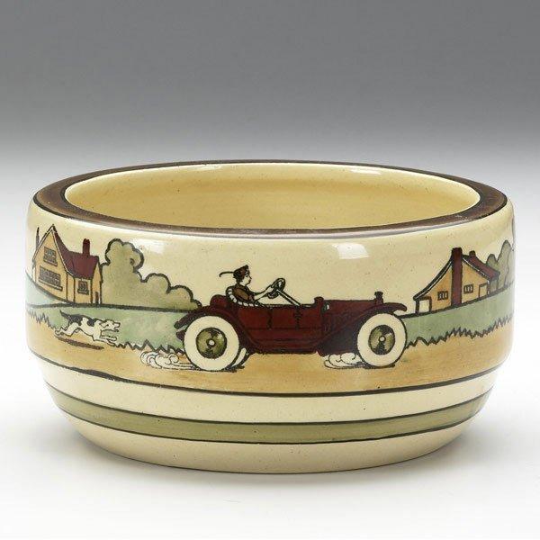 8A: ROSEVILLE Tourist bowl