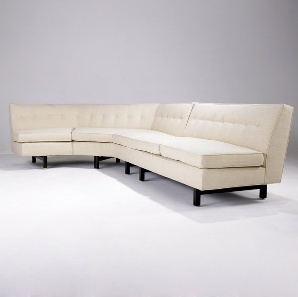 153: EDWARD WORMLEY / DUNBAR Sectional sofa