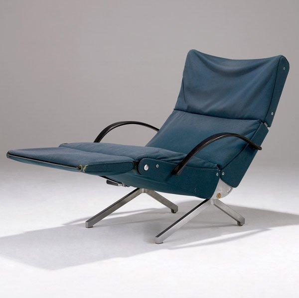 605: OSVALDO BORSANI / TECNO P40 adjustable lounge