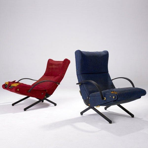 606: OSVALDO BORSANI / TECNO Pair of lounge chairs