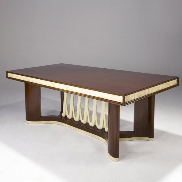 608: ITALIAN Rosewood dining table