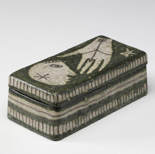 620: GUIDO GAMBONE Rectangular covered box