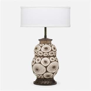 Rene Buthaud and Louis Katona, Table lamp