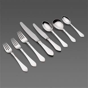 Georg Jensen, Continental (Antik) flatware service