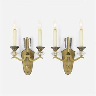 French, Sconces, pair