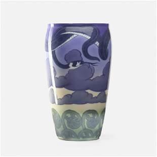 Carl Mortensen for Royal Copenhagen, Art Nouveau vase