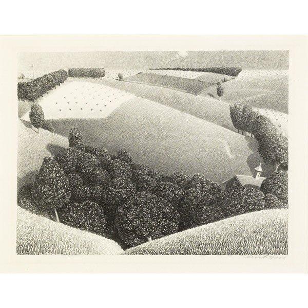 2: Grant Wood (American, 1891-1942) July 15th, 1938