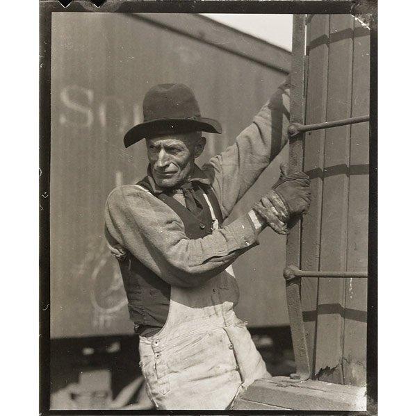 3: Lewis Hines (American, 1874-1940) Freight Brakeman