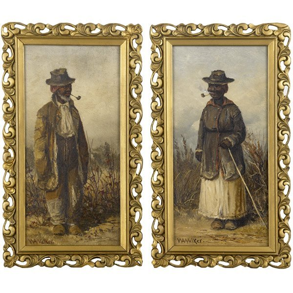 4: William Aiken Walker (American, 1838-1921) Two wor