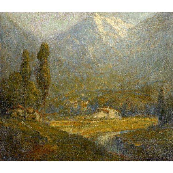 7: George Pritchard (American, 1878-1962) Untitled