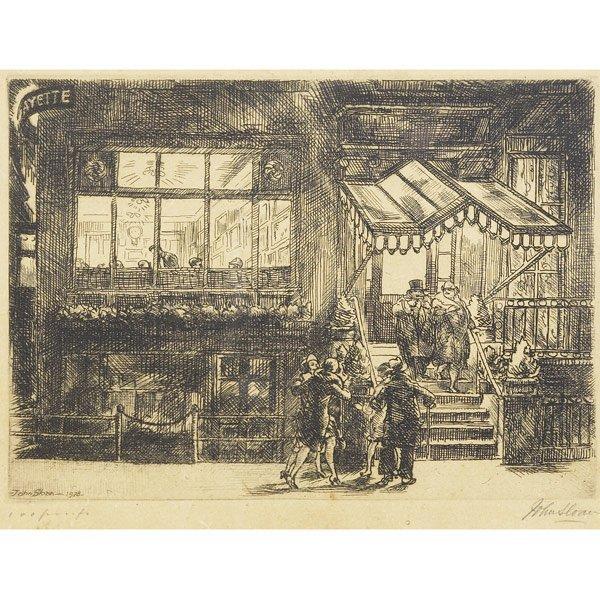 10: John French Sloan (American, 1871-1951) The Lafaye