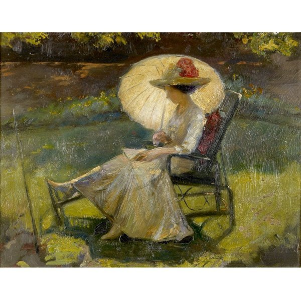 15: Emil Fuchs (American, 1866-1929) A Summer's Day