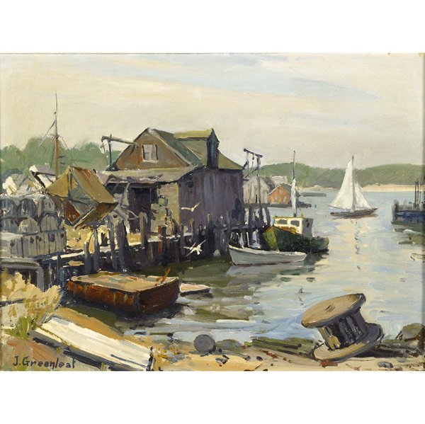 23: Jacob I. Greenleaf (American, 1887-1968) Arnold's