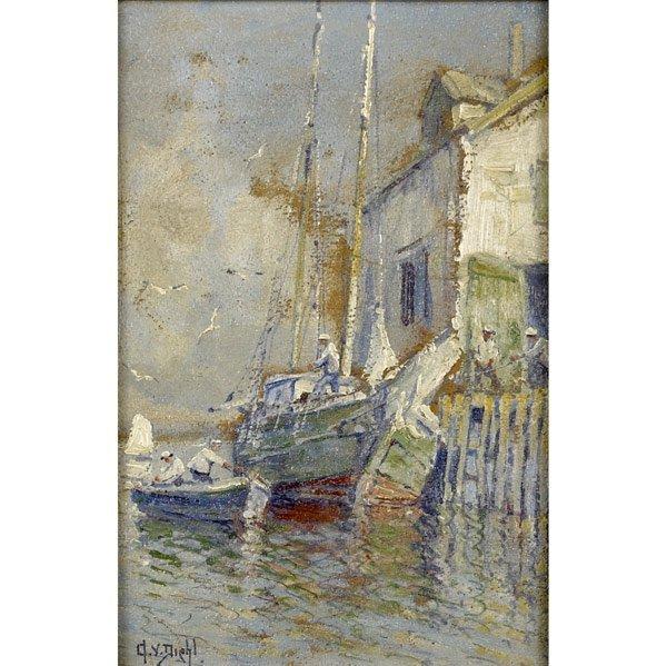 24: Arthur Vidal Diehl (American, 1870-1929) Untitled