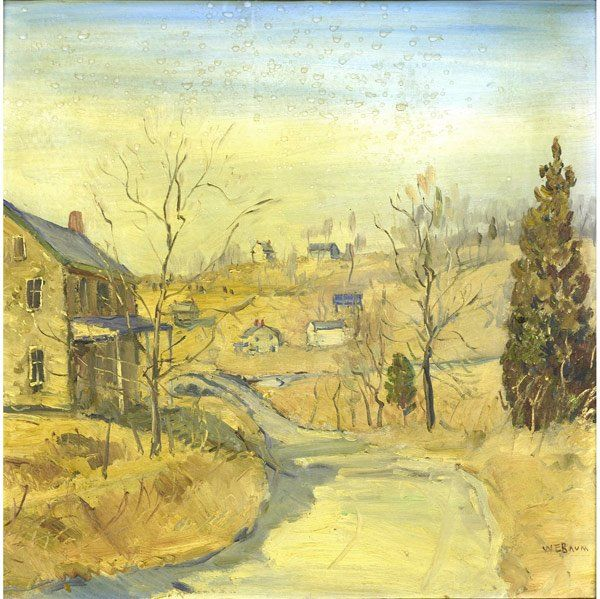 Walter Emerson Baum (American, 1884-1956) Bucks Co