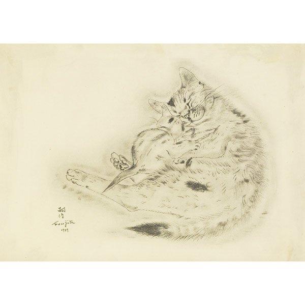 103: Leonard Tsugoharu Foujita (Japanese/French, 1886-1