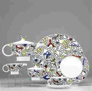 574: Keith Haring (American, 1958-1990) No.1 Spirit of