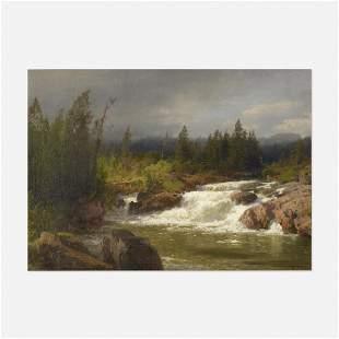 Hermann Ottomar Herzog, River Landscape