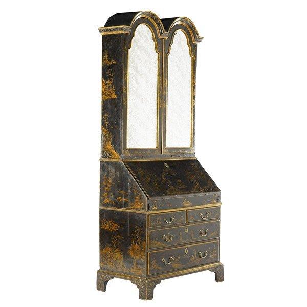 22: English Queen Anne secretary desk