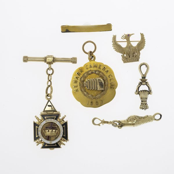 1020A: GOLD WATCH FOBS, ETC.