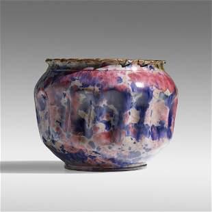 George E. Ohr, Large vase